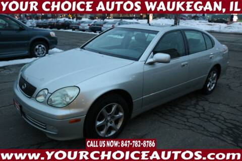 2003 Lexus GS 300 for sale at Your Choice Autos - Waukegan in Waukegan IL