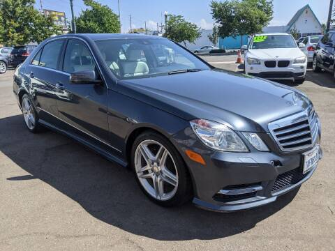 2013 Mercedes-Benz E-Class for sale at Convoy Motors LLC in National City CA