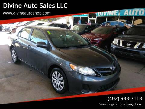 2012 Toyota Corolla for sale at Divine Auto Sales LLC in Omaha NE