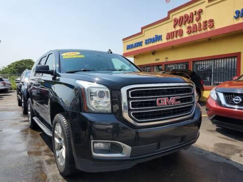 2016 GMC Yukon for sale at Popas Auto Sales in Detroit MI
