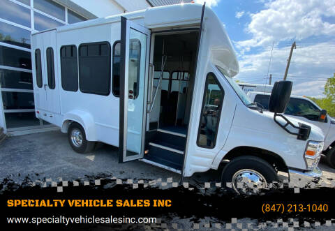 2009 Ford E-Series Chassis for sale at SPECIALTY VEHICLE SALES INC in Skokie IL