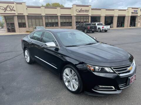 2016 Chevrolet Impala for sale at ASSOCIATED SALES & LEASING in Marshfield WI