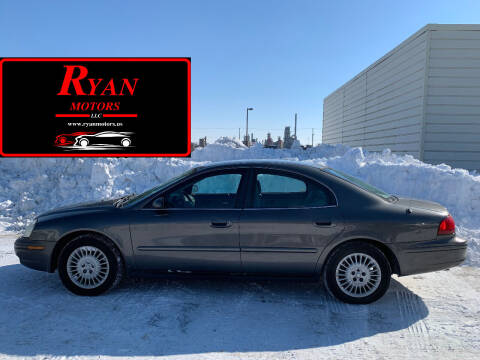 2003 Mercury Sable for sale at Ryan Motors LLC in Warsaw IN