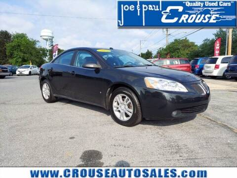 2008 Pontiac G6 for sale at Joe and Paul Crouse Inc. in Columbia PA