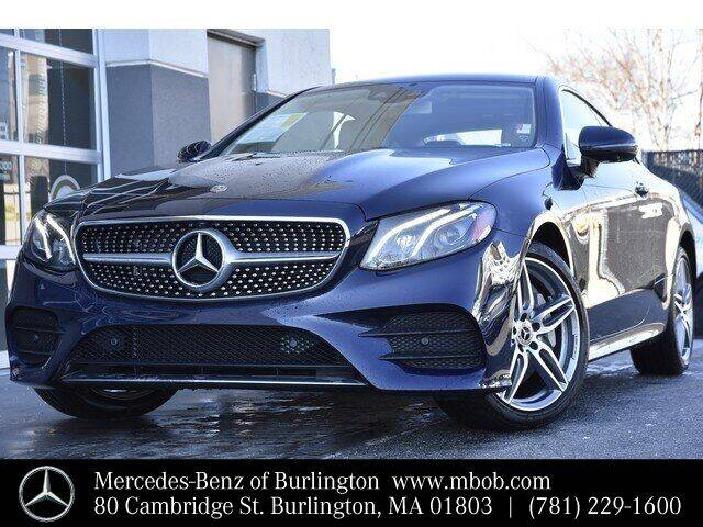 2020 Mercedes-Benz E-Class for sale at Mercedes Benz of Burlington in Burlington MA