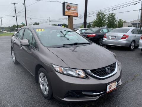 2013 Honda Civic for sale at Cars 4 Grab in Winchester VA