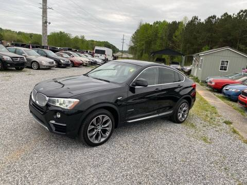 2015 BMW X4 for sale at Billy Ballew Motorsports in Dawsonville GA