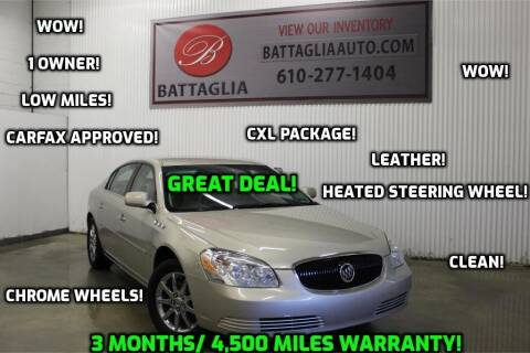 2007 Buick Lucerne for sale at Battaglia Auto Sales in Plymouth Meeting PA