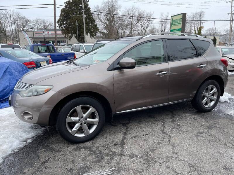 2009 Nissan Murano for sale at Affordable Auto Detailing & Sales in Neptune NJ