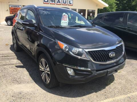 2015 Kia Sportage for sale at Motuzas Automotive Inc. in Upton MA