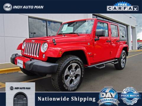 2018 Jeep Wrangler JK Unlimited for sale at INDY AUTO MAN in Indianapolis IN