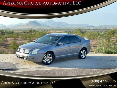 2007 Ford Fusion for sale at Arizona Choice Automotive LLC in Mesa AZ