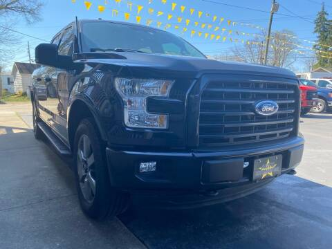2015 Ford F-150 for sale at Auto Exchange in The Plains OH