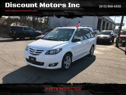 2004 Mazda MPV for sale at Discount Motors Inc in Madison TN