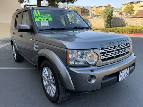 2011 Land Rover LR4 for sale at Select Auto Wholesales in Glendora CA