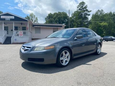 2005 Acura TL for sale at CVC AUTO SALES in Durham NC