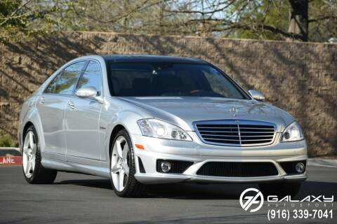 2009 Mercedes-Benz S-Class for sale at Galaxy Autosport in Sacramento CA