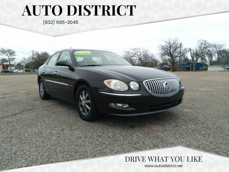 2009 Buick LaCrosse for sale at Auto District in Baytown TX