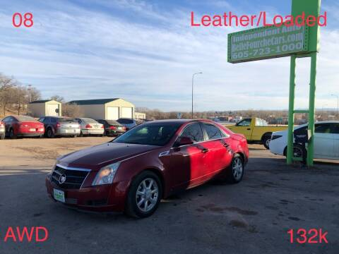 2008 Cadillac CTS for sale at Independent Auto in Belle Fourche SD