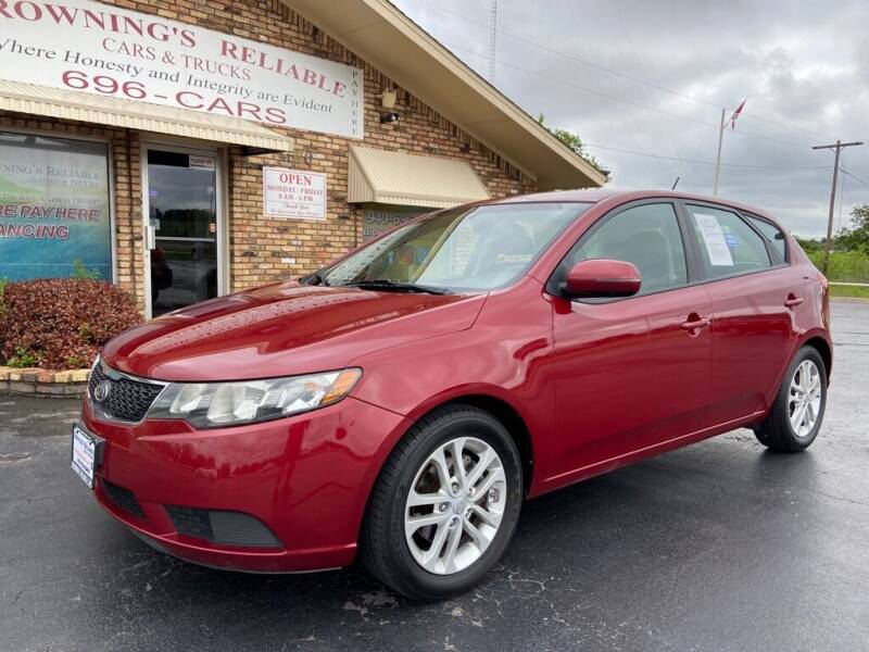 2012 Kia Forte5 for sale at Browning's Reliable Cars & Trucks in Wichita Falls TX
