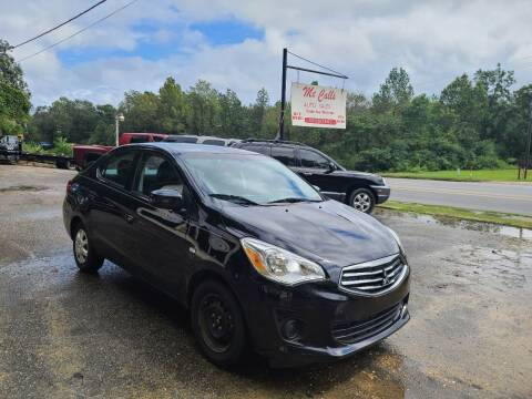 2018 Mitsubishi Mirage G4 for sale at Mc Calls Auto Sales in Brewton AL