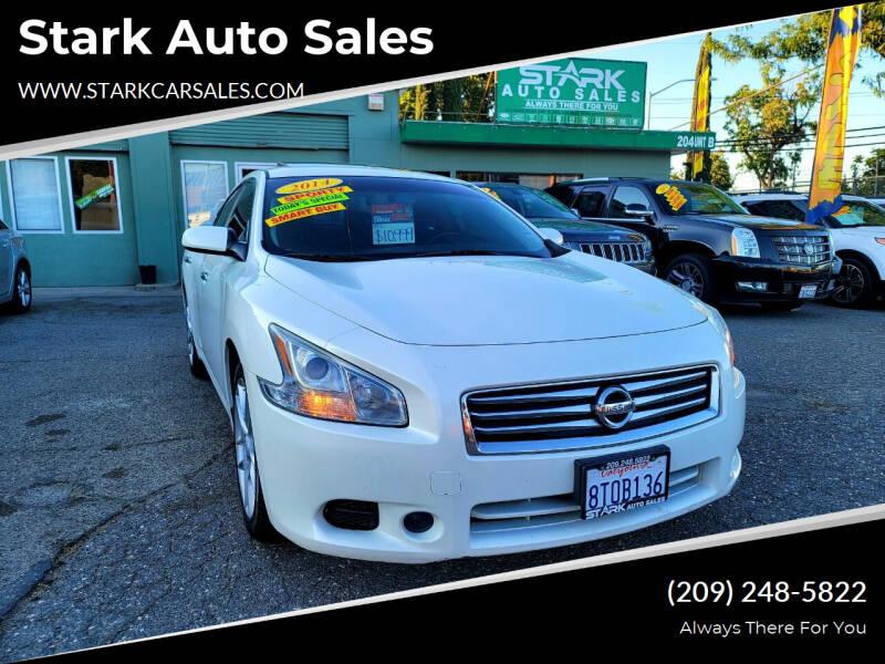 2014 Nissan Maxima for sale at Stark Auto Sales in Modesto CA