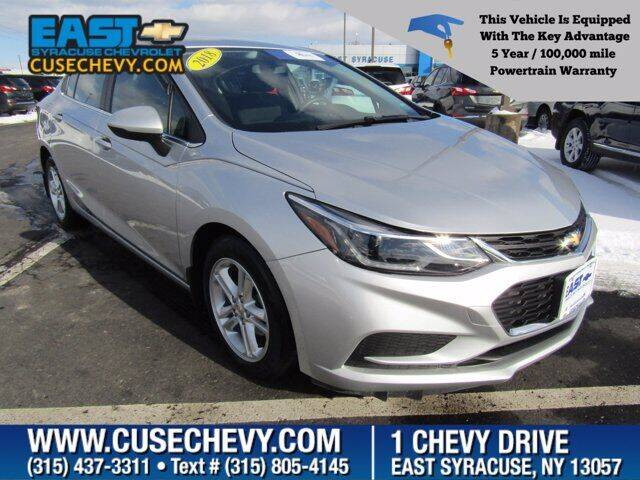 2018 Chevrolet Cruze for sale at East Syracuse Performance Sales & Service in Syracuse NY