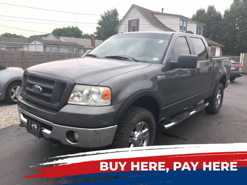 2008 Ford F-150 for sale at Marti Motors Inc in Madison IL