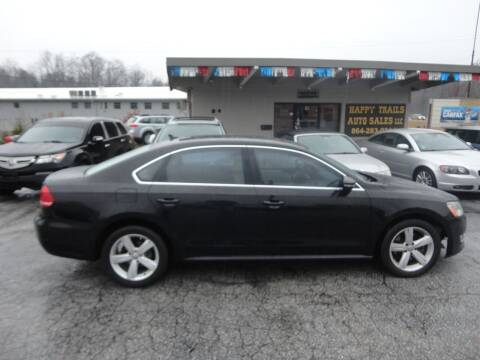 2012 Volkswagen Passat for sale at HAPPY TRAILS AUTO SALES LLC in Taylors SC