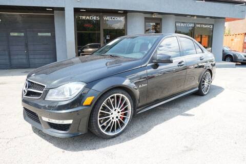 2013 Mercedes-Benz C-Class for sale at PA Motorcars in Conshohocken PA