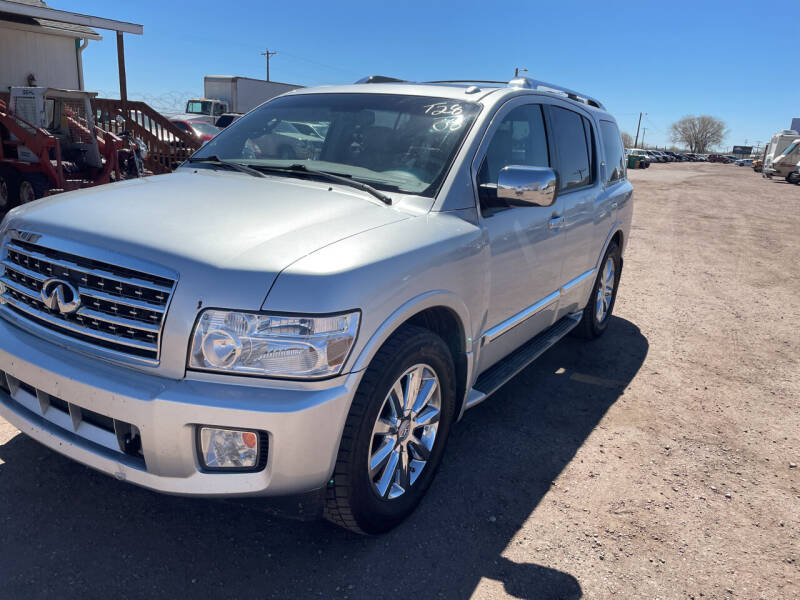 2008 Infiniti QX56 for sale at PYRAMID MOTORS - Fountain Lot in Fountain CO
