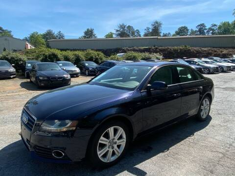 2011 Audi A4 for sale at Car Online in Roswell GA