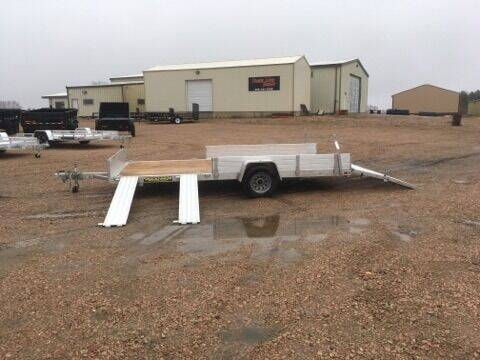 2021 Aluma 8115 SR-W Aluminum Utility for sale at Prairie Wind Trailers, LLC in Harrisburg SD