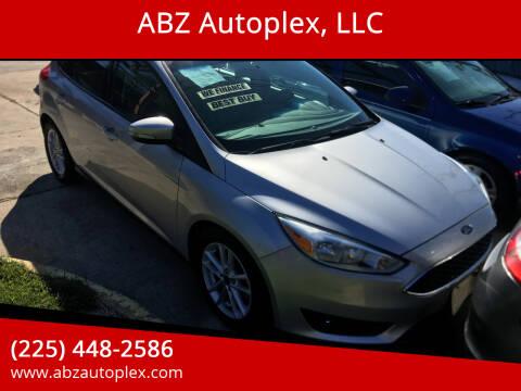 2017 Ford Focus for sale at ABZ Autoplex, LLC in Baton Rouge LA