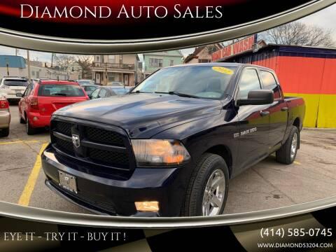 2012 RAM Ram Pickup 1500 for sale at Diamond Auto Sales in Milwaukee WI