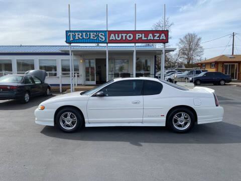 2001 Chevrolet Monte Carlo for sale at True's Auto Plaza in Union Gap WA