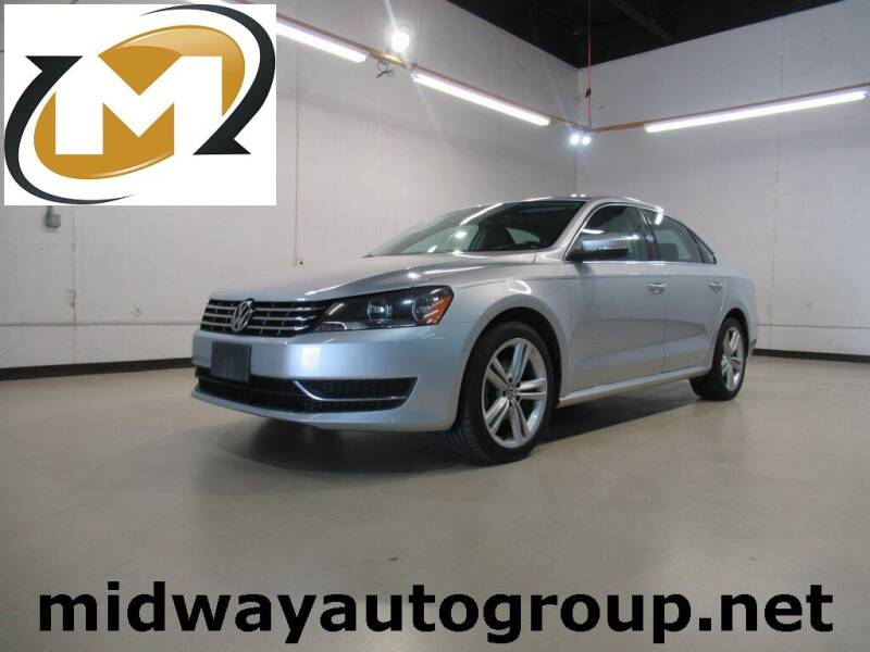 2014 Volkswagen Passat for sale at Midway Auto Group in Addison TX