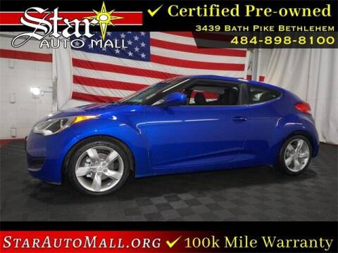 2014 Hyundai Veloster for sale at STAR AUTO MALL 512 in Bethlehem PA