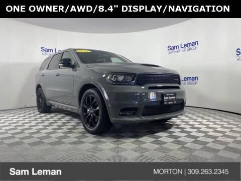 2019 Dodge Durango for sale at Sam Leman CDJRF Morton in Morton IL