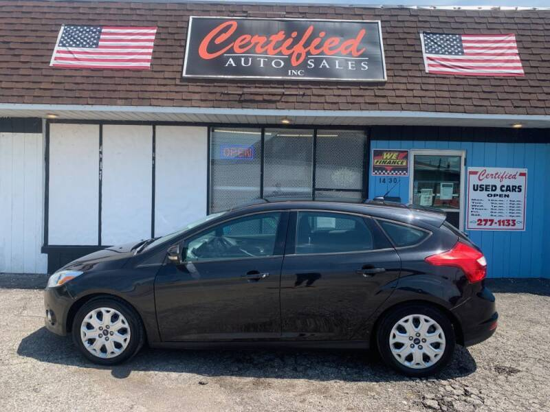 2012 Ford Focus for sale at Certified Auto Sales, Inc in Lorain OH