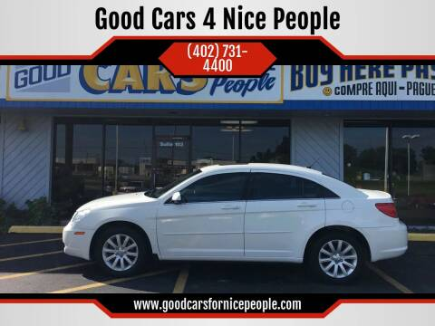 2010 Chrysler Sebring for sale at Good Cars 4 Nice People in Omaha NE