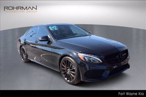 2017 Mercedes-Benz C-Class for sale at BOB ROHRMAN FORT WAYNE TOYOTA in Fort Wayne IN