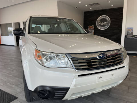 2010 Subaru Forester for sale at Evolution Autos in Whiteland IN