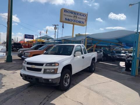 2012 Chevrolet Colorado for sale at Borrego Motors in El Paso TX