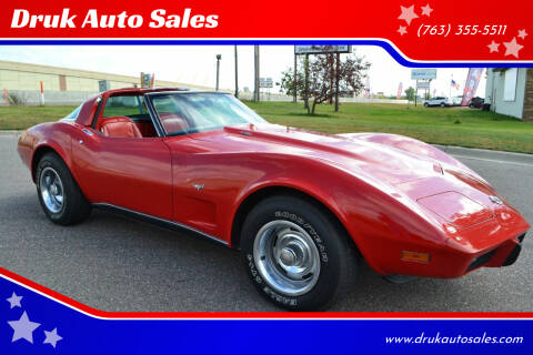 1978 Chevrolet Corvette for sale at Druk Auto Sales in Ramsey MN