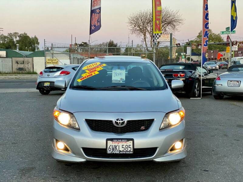 2010 Toyota Corolla for sale at Stark Auto Sales in Modesto CA