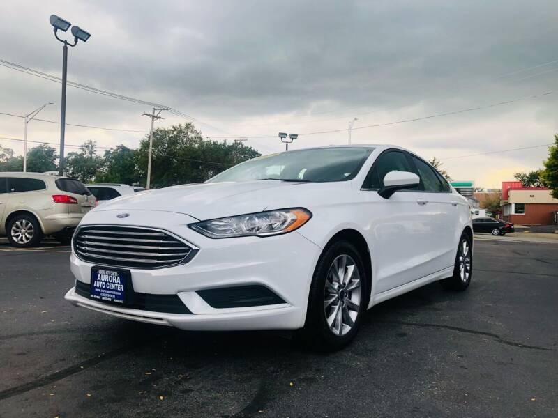 2017 Ford Fusion for sale at Aurora Auto Center Inc in Aurora IL