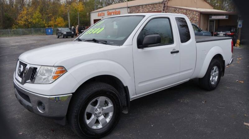 2011 Nissan Frontier for sale at G & R Auto Sales in Charlestown IN