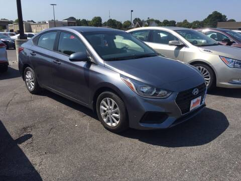 2018 Hyundai Accent for sale at McCully's Automotive in Benton KY