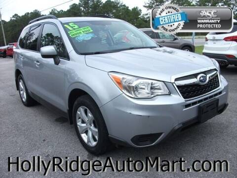 2015 Subaru Forester for sale at Holly Ridge Auto Mart in Holly Ridge NC